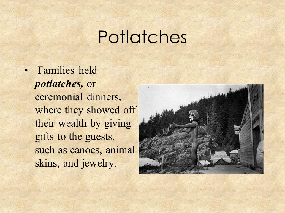 Potlatches