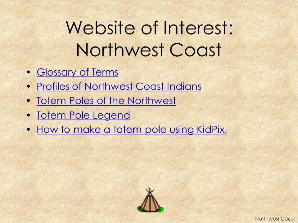 Website of Interest: Northwest Coast