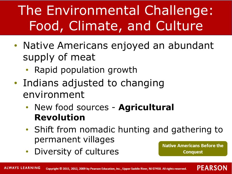 The Environmental Challenge: Food, Climate, and Culture