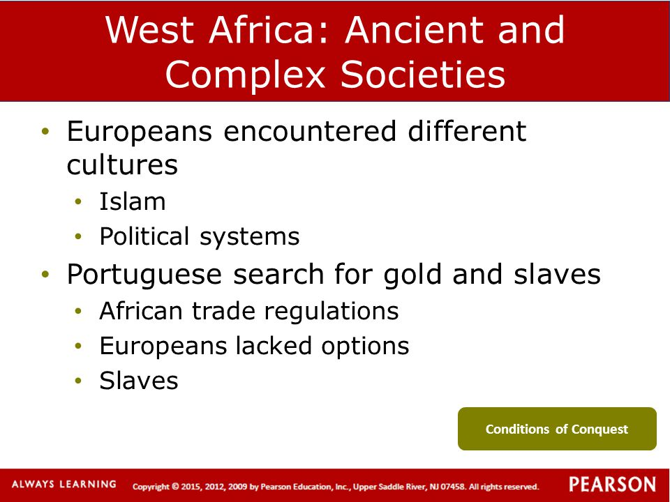 West Africa: Ancient and Complex Societies
