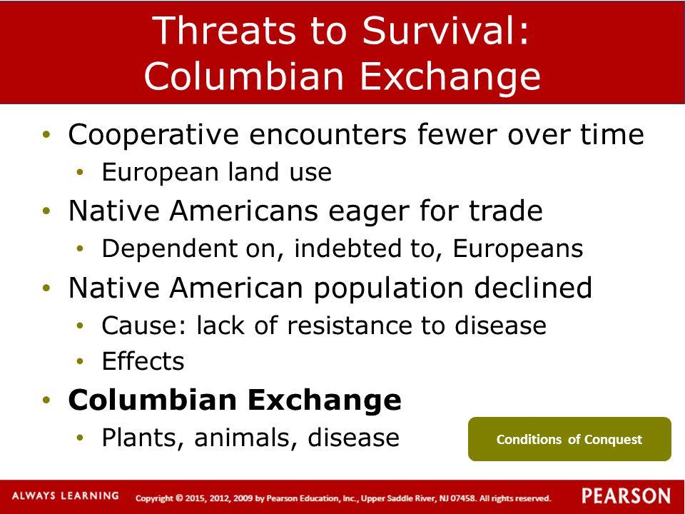 Threats to Survival: Columbian Exchange