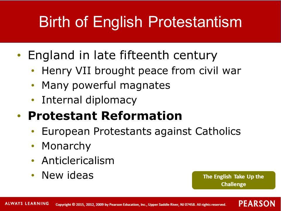 Birth of English Protestantism