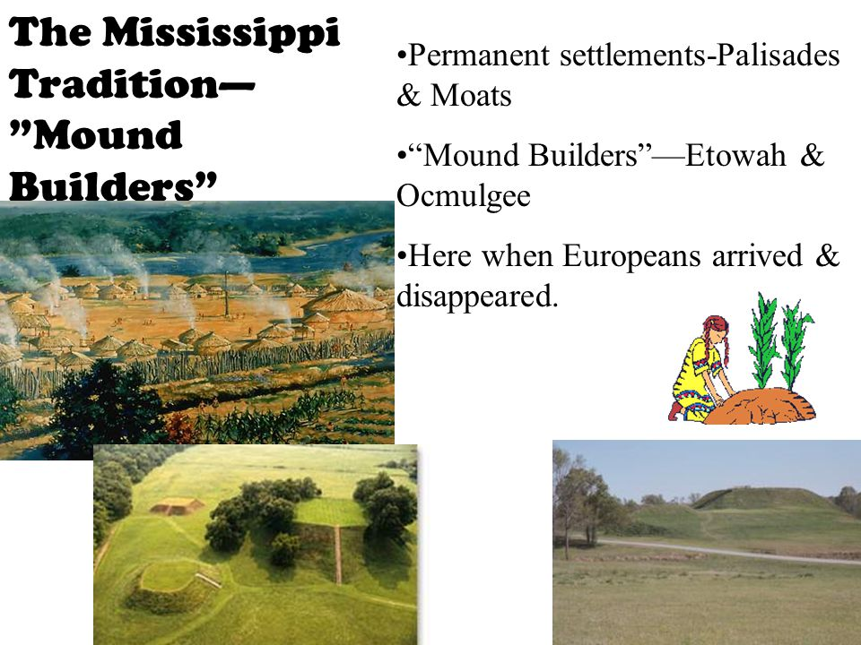 The Mississippi Tradition— Mound Builders