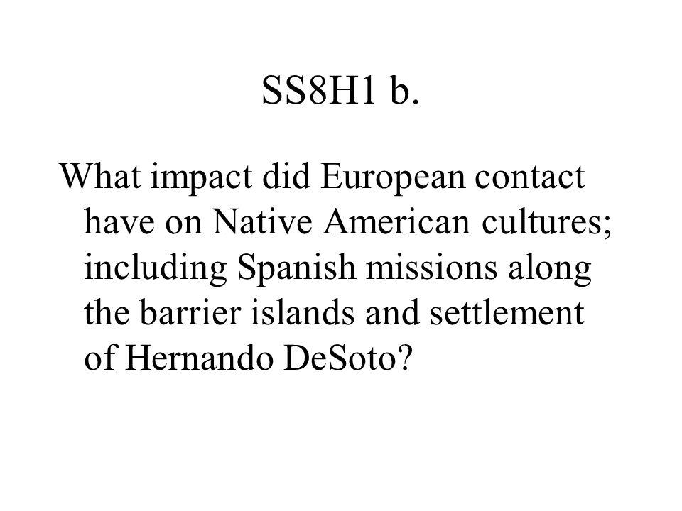 SS8H1 b.