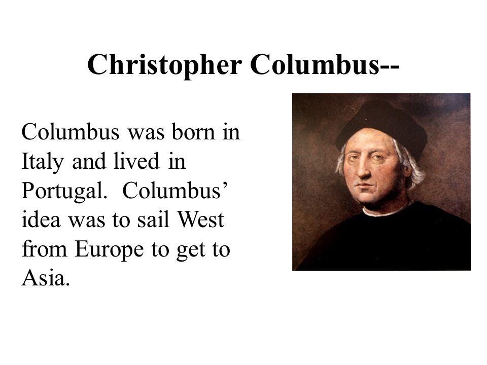 Christopher Columbus--