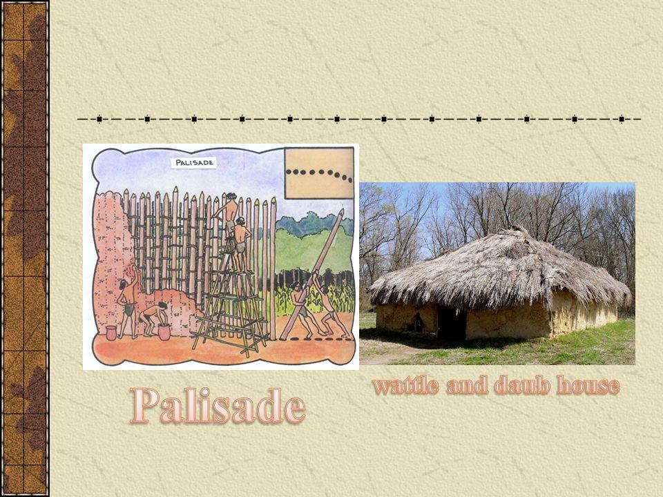 wattle and daub house Palisade