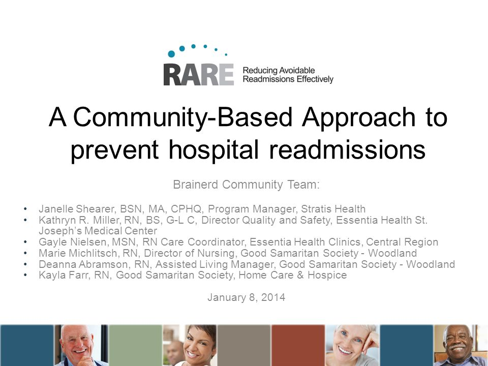 A Community-Based Approach to prevent hospital readmissions