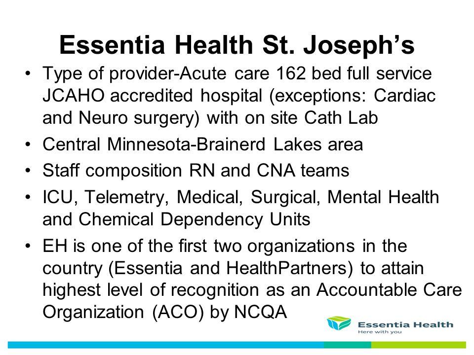 Essentia Health St. Joseph's