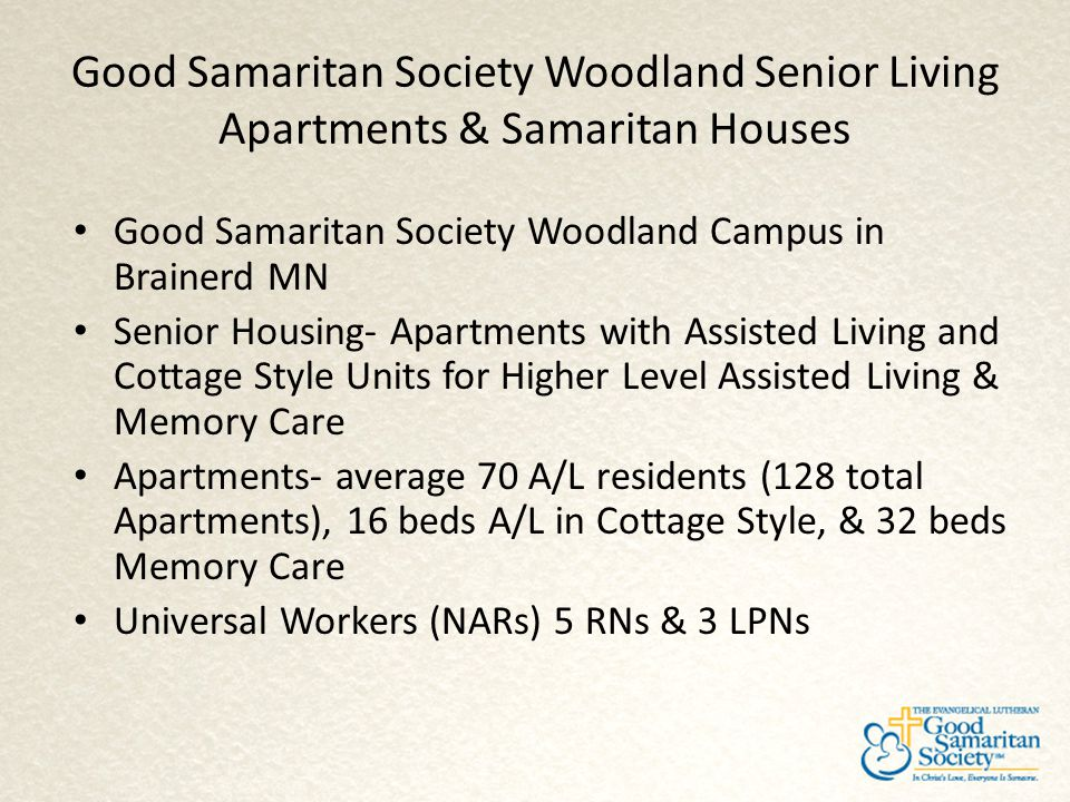Good Samaritan Society Woodland Senior Living Apartments & Samaritan Houses