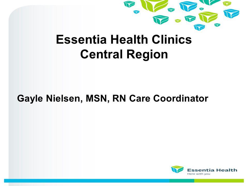 Essentia Health Clinics Central Region