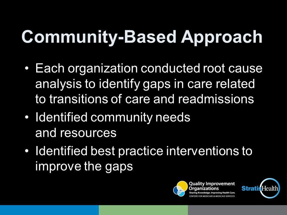 Community-Based Approach