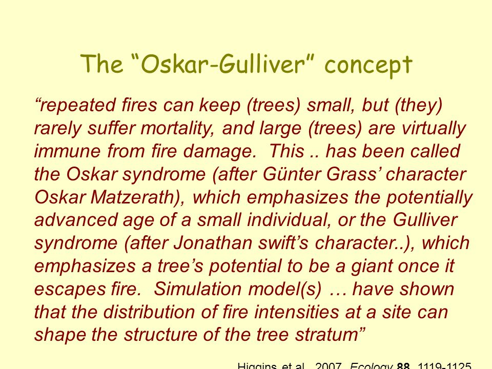 The Oskar-Gulliver concept