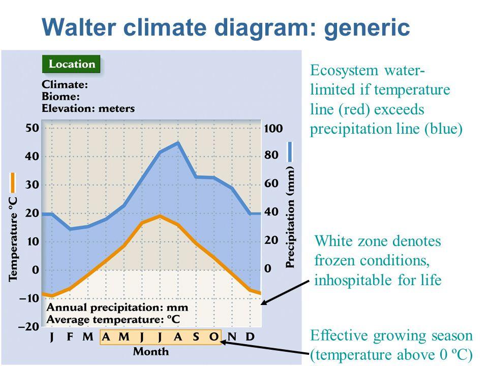 Walter climate diagram: generic