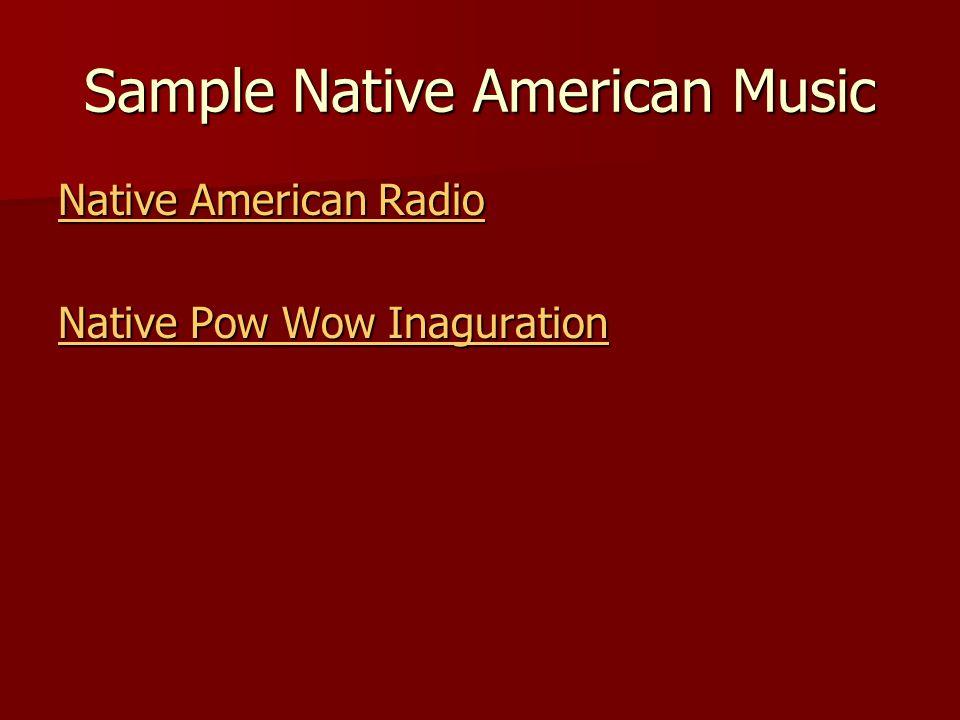 Sample Native American Music