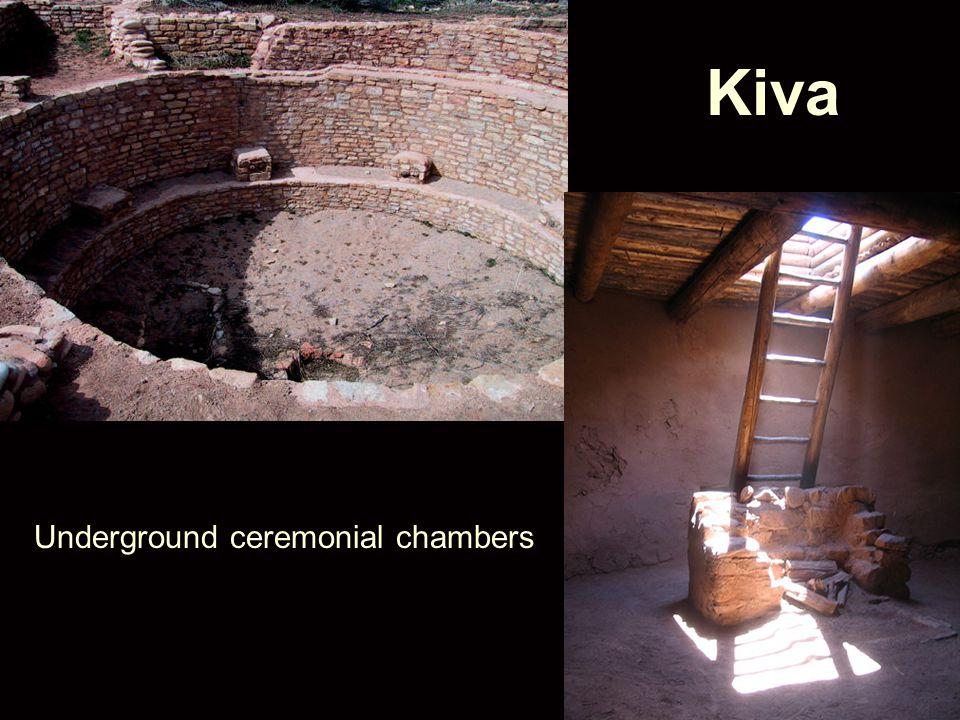 Kiva Underground ceremonial chambers