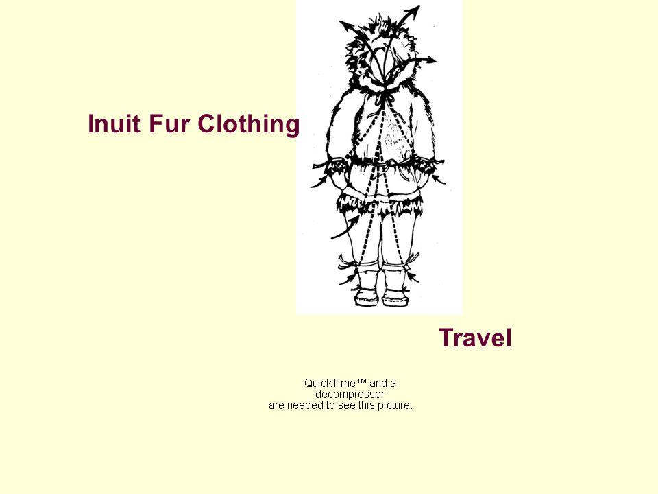 Inuit Fur Clothing Travel