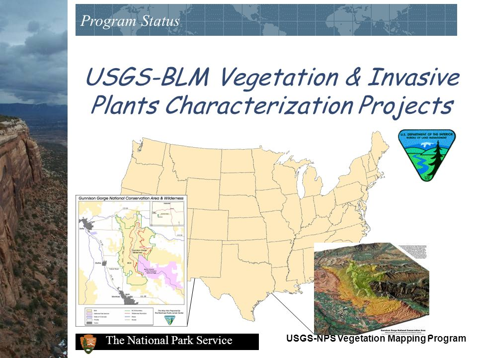 USGS-BLM Vegetation & Invasive Plants Characterization Projects