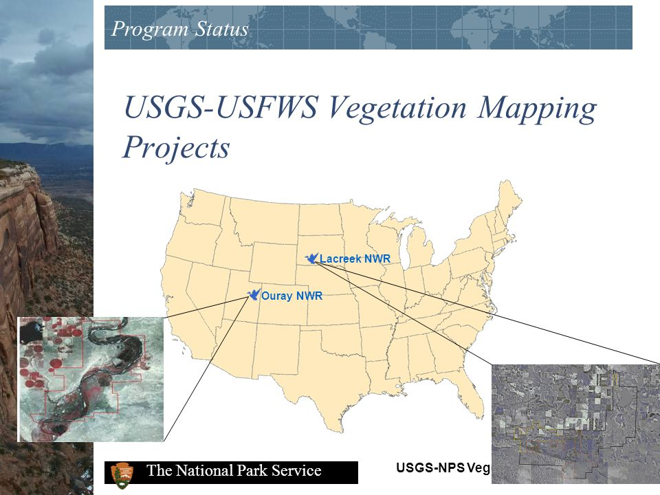 USGS-USFWS Vegetation Mapping Projects