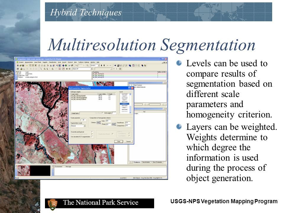 Multiresolution Segmentation