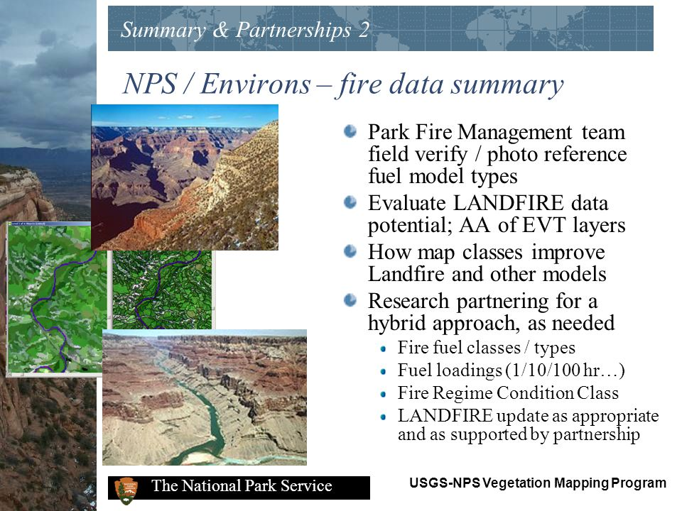 NPS / Environs – fire data summary