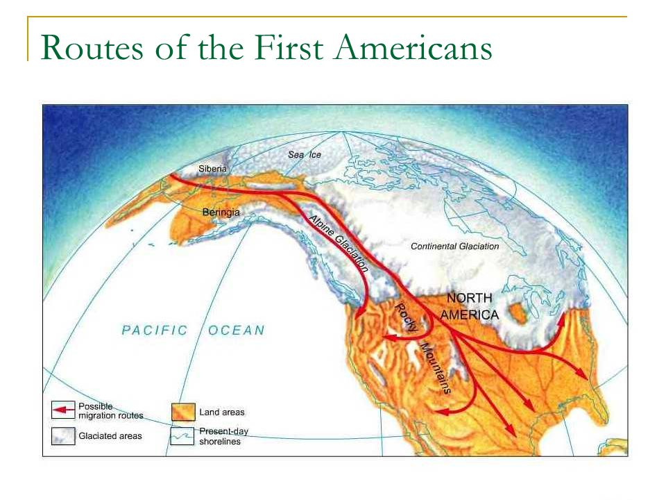 Routes of the First Americans