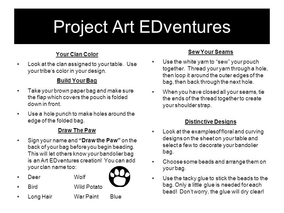 Project Art EDventures