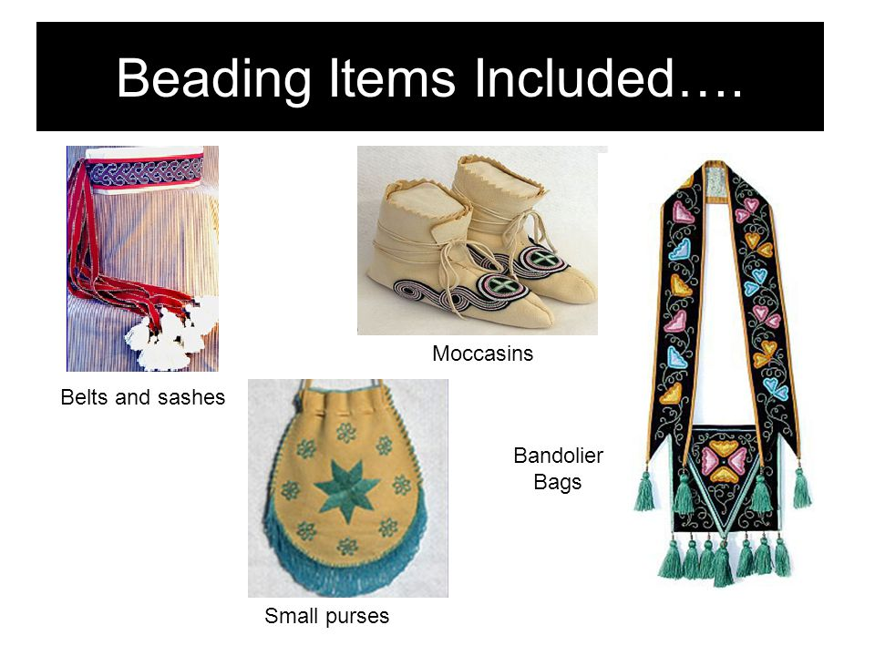 Beading Items Included….