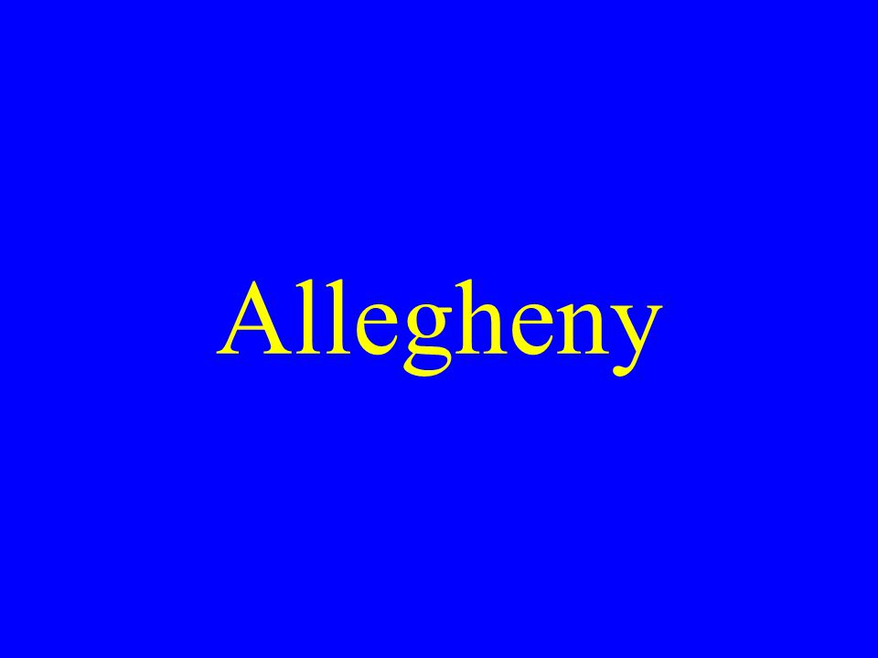 Allegheny