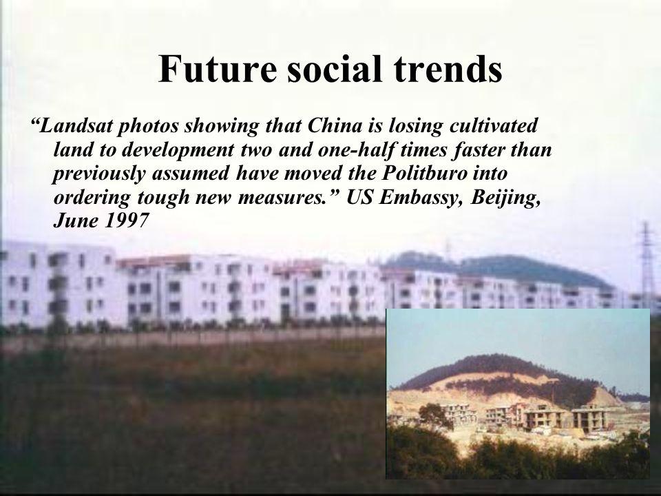 Future social trends
