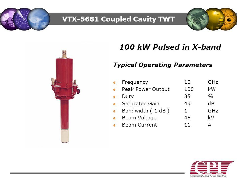 VTX-5681 Coupled Cavity TWT