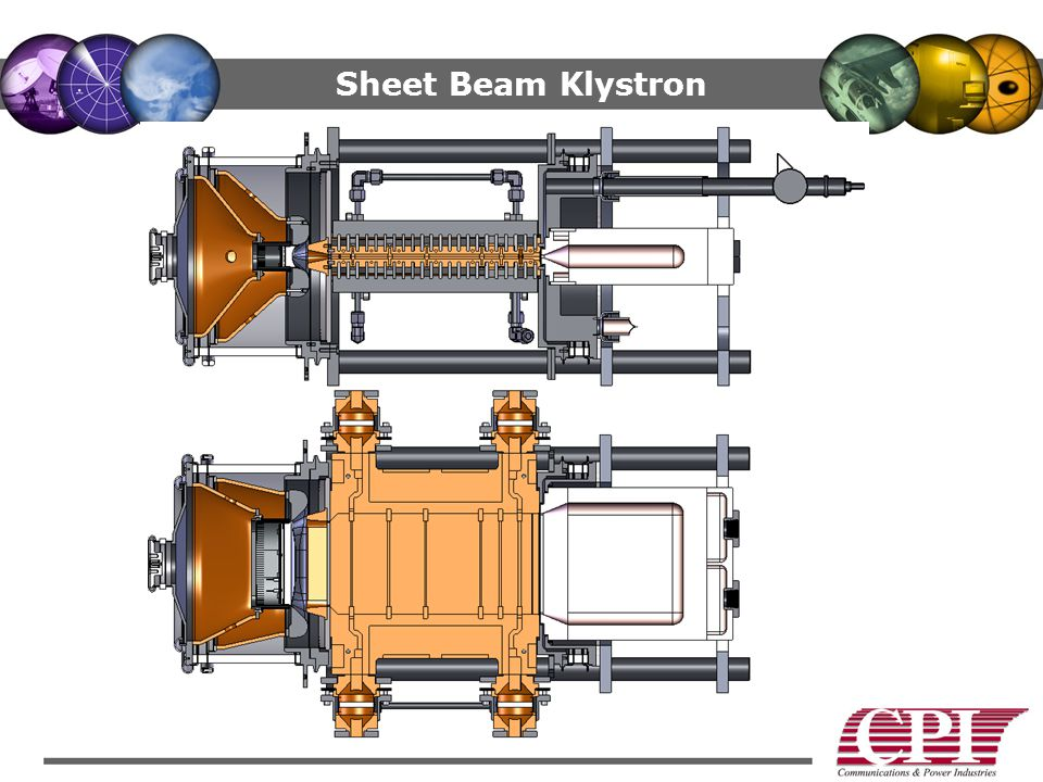 Sheet Beam Klystron The device advances the state of the art.