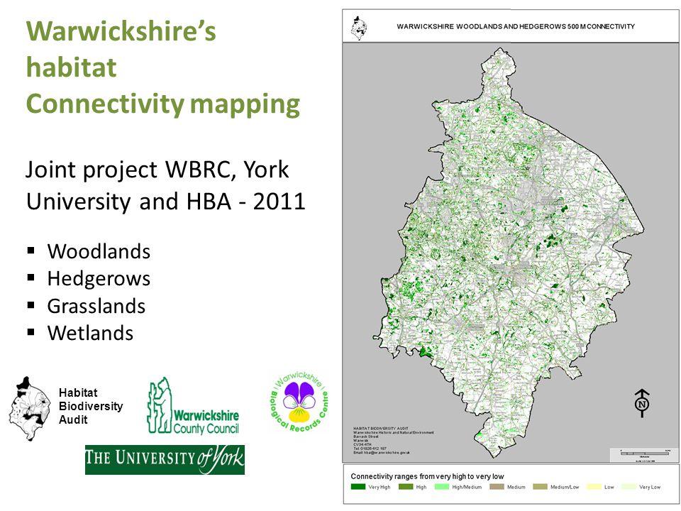 Warwickshire's habitat Connectivity mapping
