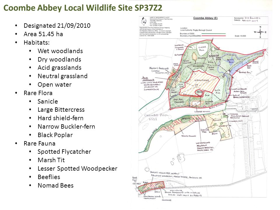 Coombe Abbey Local Wildlife Site SP37Z2