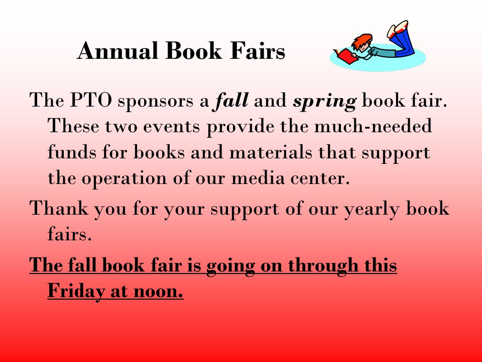 Annual Book Fairs