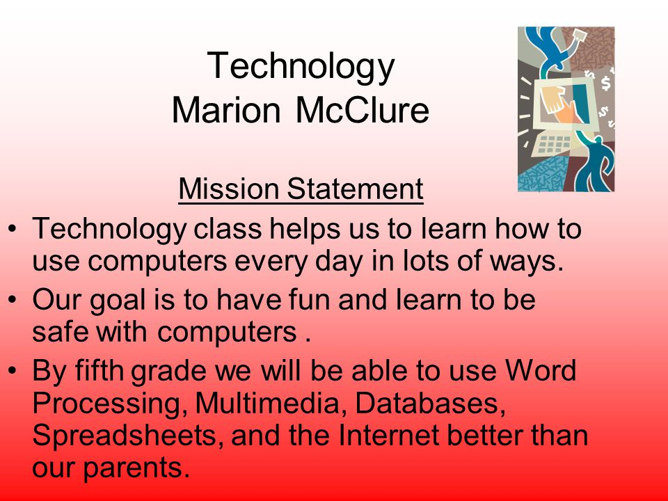 Technology Marion McClure