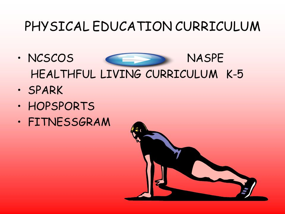 PHYSICAL EDUCATION CURRICULUM