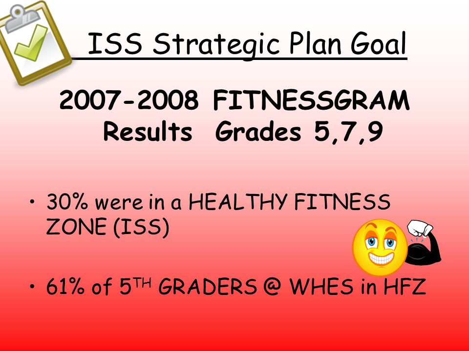 ISS Strategic Plan Goal