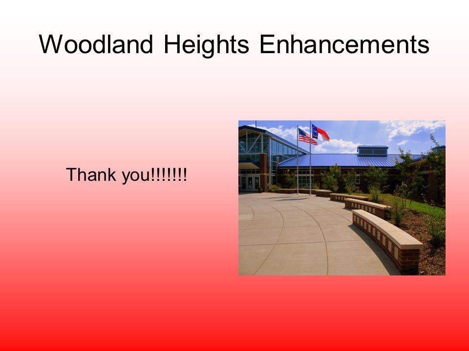 Woodland Heights Enhancements