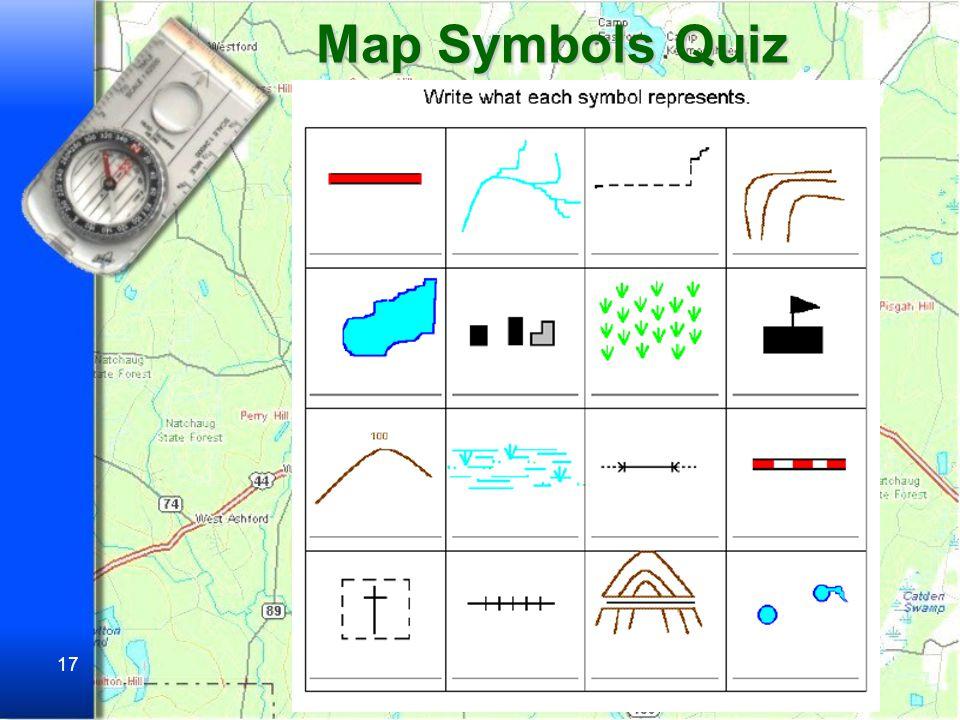 Map Symbols Quiz