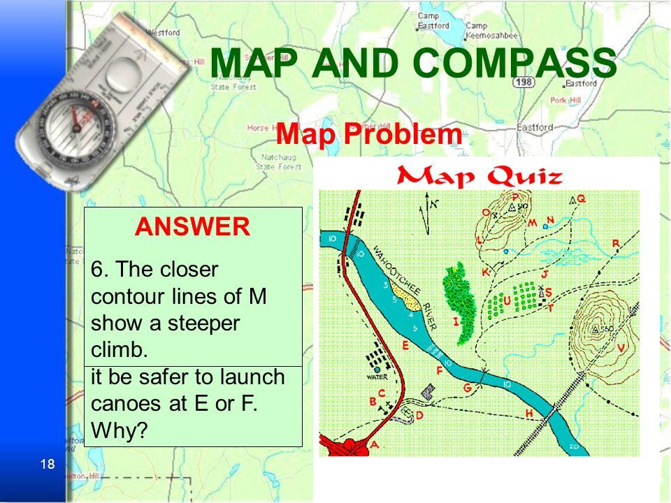MAP AND COMPASS Map Problem