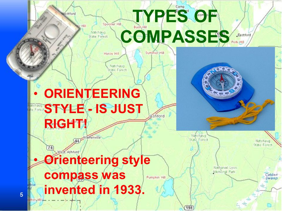 TYPES OF COMPASSES ORIENTEERING STYLE - IS JUST RIGHT!