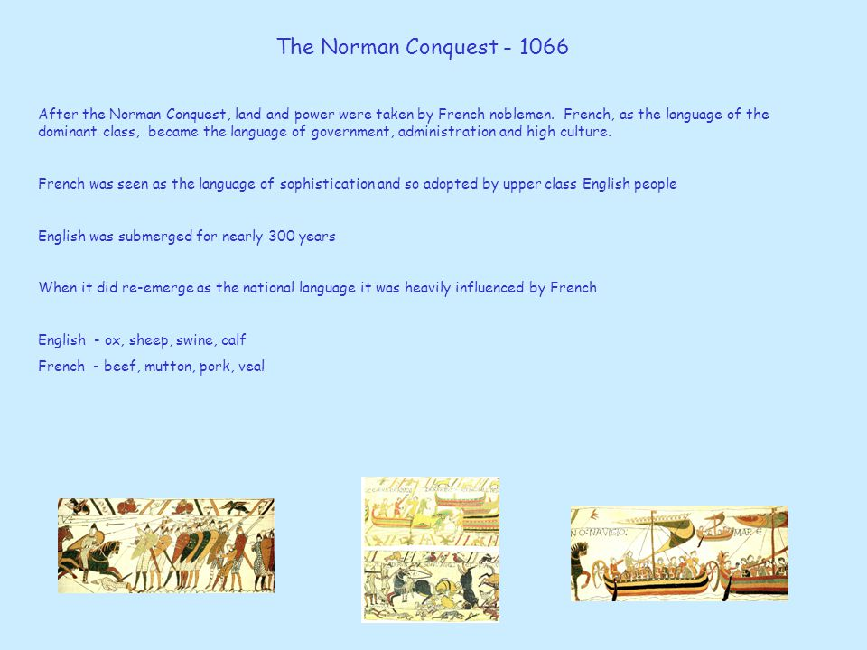 The Norman Conquest - 1066