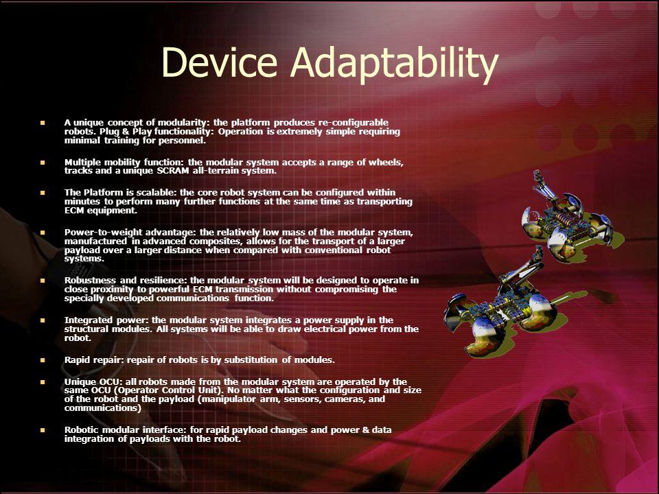 Device Adaptability