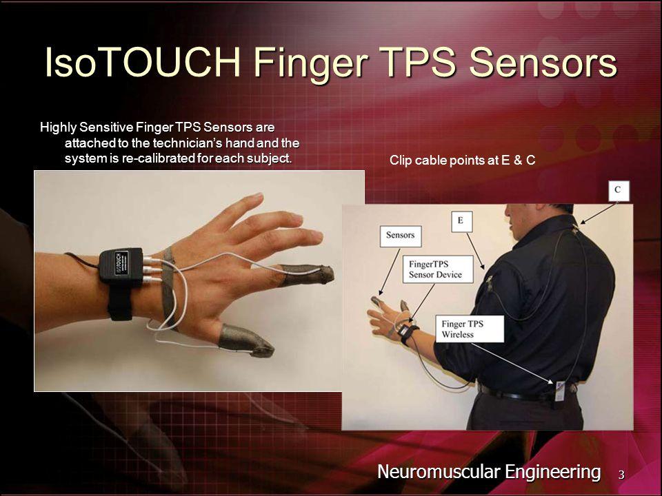 IsoTOUCH Finger TPS Sensors