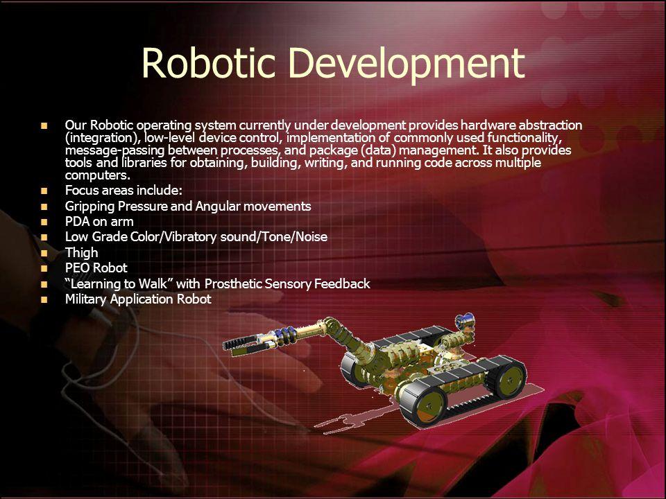 Robotic Development