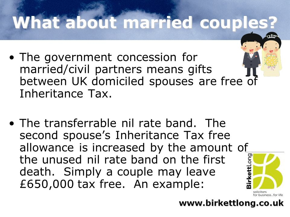 What about married couples
