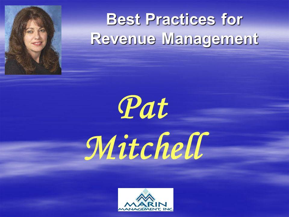 Best Practices for Revenue Management