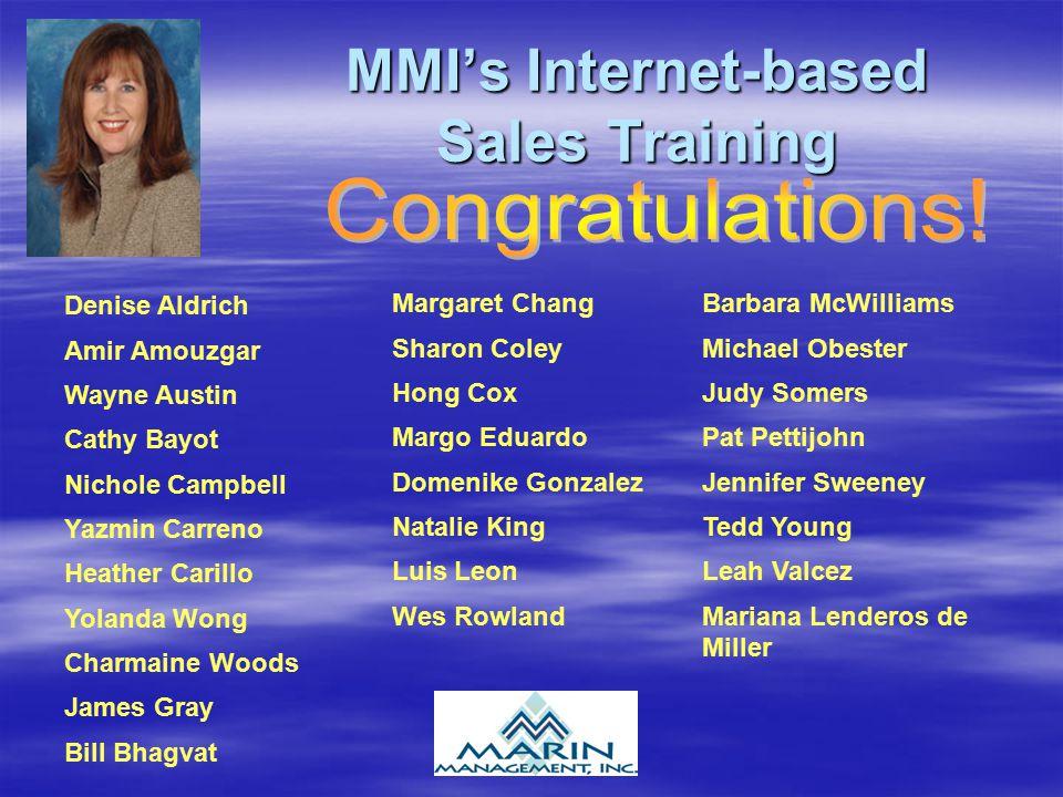 MMI's Internet-based Sales Training