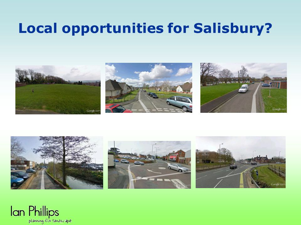 Local opportunities for Salisbury