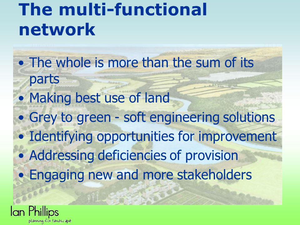 The multi-functional network